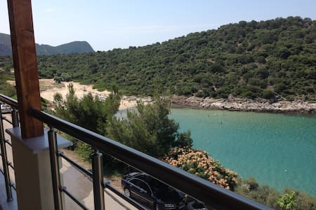 2 bedroom overlooking beach - Skala Marion, Thassos - Wohnung