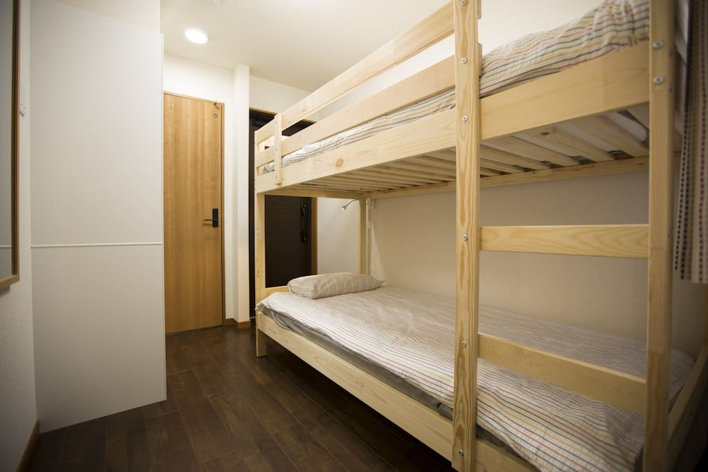 Bed&Stay - Share a space with your favorite friend or family in a comfortable bunk bed (Room 202)
