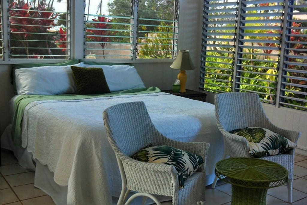 Open air design allows tropical breezes to flow through!