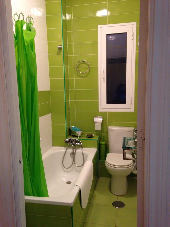 Baño recién reformado