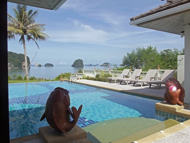 Sea View Villa With Private Pool  - Khao Thong - Villa