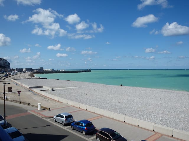 Holiday rental at the beach - Mers-les-Bains - Apartment