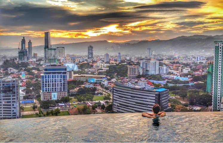SOPHISTICATED STUDIO - 21ST FLOOR - FREE BREAKFAST - Cebu City - Wohnung
