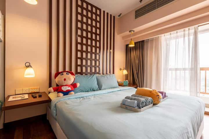SUNWAY SUITES TYPE D @ SUNWAY PYRAMID FOR 2 PAX