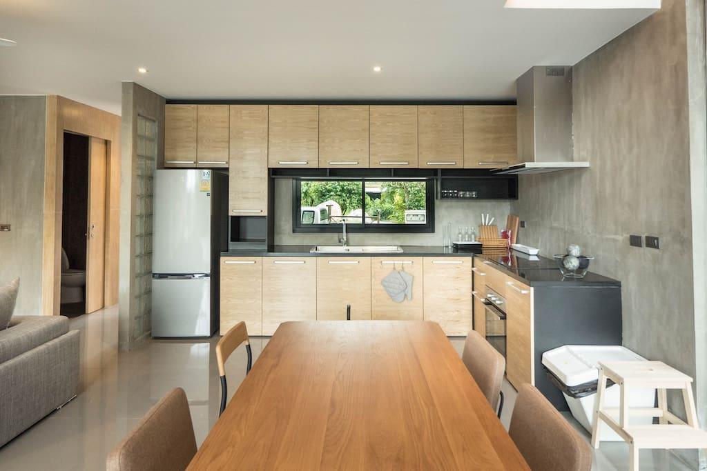 Kitchen &  Dinning area