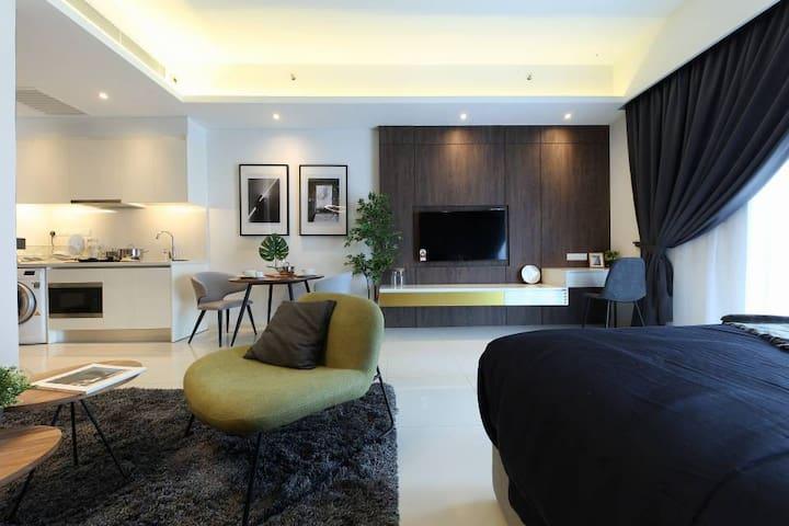 Modern Elegant Studio, Tribeca Bukit Bintang