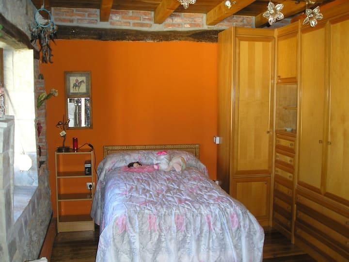 habitaciones  casa rural compartida