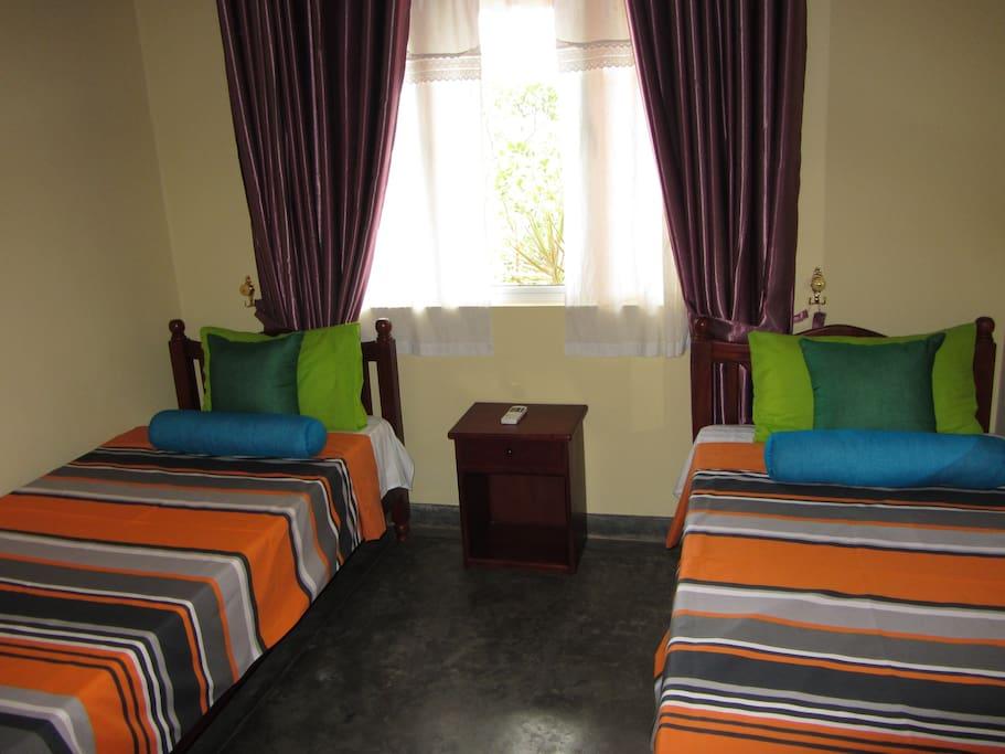 Bedroom, Visal White Villa.