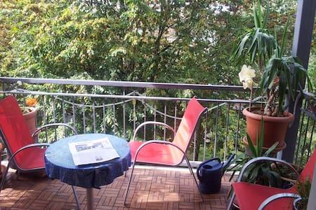 IAA: Beautiful quiet accommodation - Frankfurt