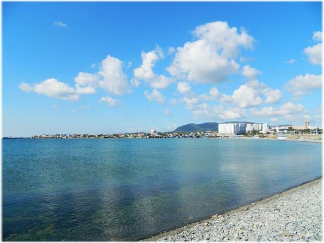Квартира у моря пляж Алексино