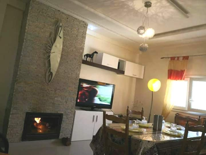 In a quiet and elegant environment in ifrane