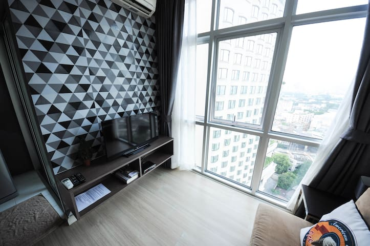 1BR LOFT STYLE PLATINUM CENTRAL CT1 - Bangkok - Apartment