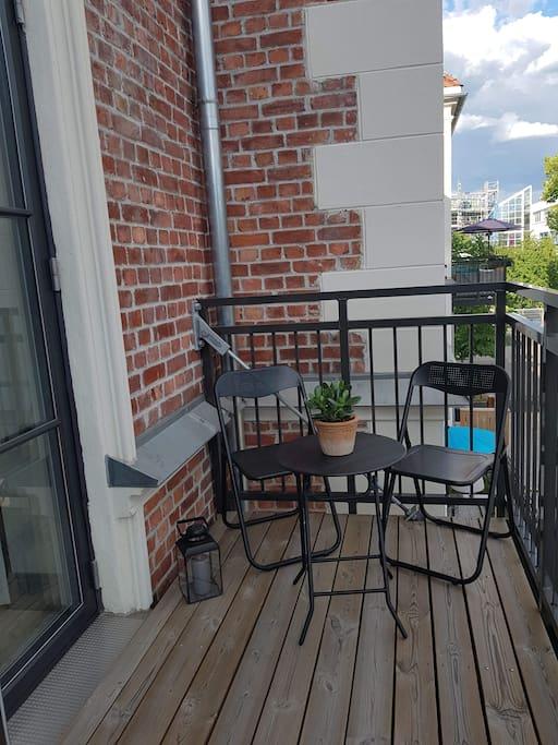 Egen balkong