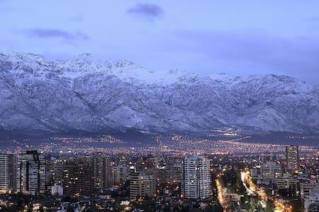 Amazing view (Andes) Forestal Park #1 - Recoleta - Apartament