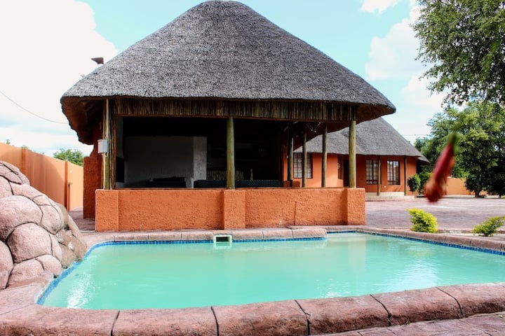 Maun's Thatched Paradise