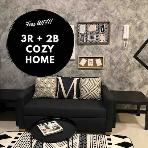 Cozy Home with 3R + 2B | WIFI | TV Box | 2 carpark