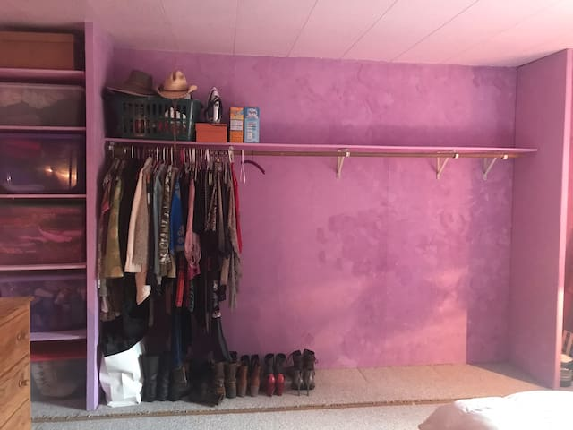 Bedroom 1 with large closet