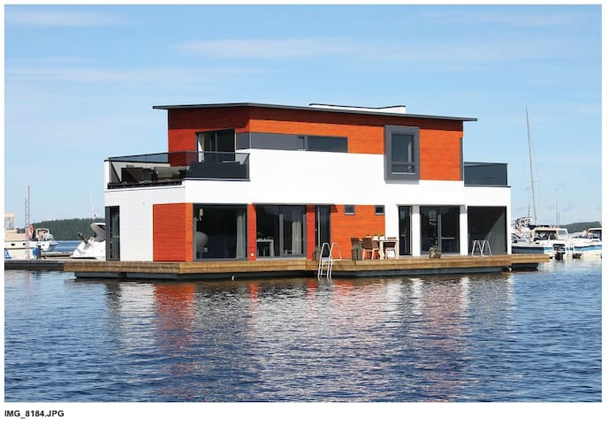 Floating luxurious house - Lappeenranta - House