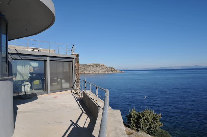 Breathtaking Private Beach House - Keratea