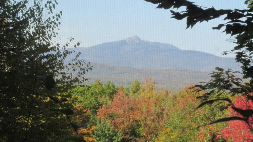 View from the dining table- Mt. Chocorua