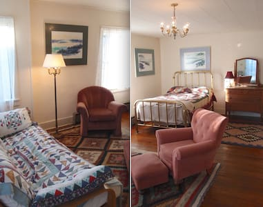 Spacious Uptown Victorian Apartment - Port Townsend