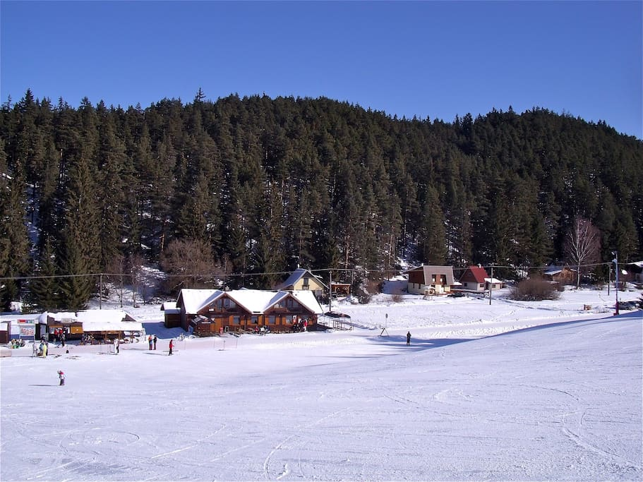 Ski Centre Lopusna Dolina 300M from chalet