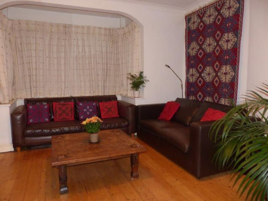 Our lounge - a great place to relax.