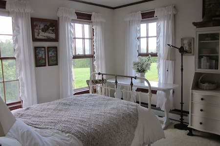 Lovely room at Long View Farm - New Braintree - Casa