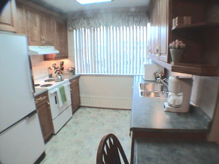 Full equipped kitchen not kitchenette