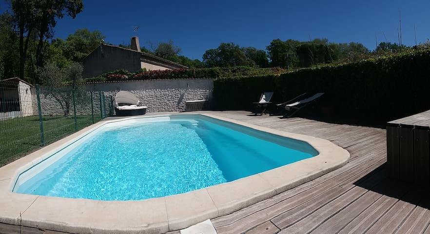 Nice villa with pool - Aix en Provence area - Mimet - Dům