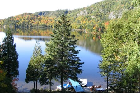 Cosy and serene lakefront cottage - Baie-Sainte-Catherine