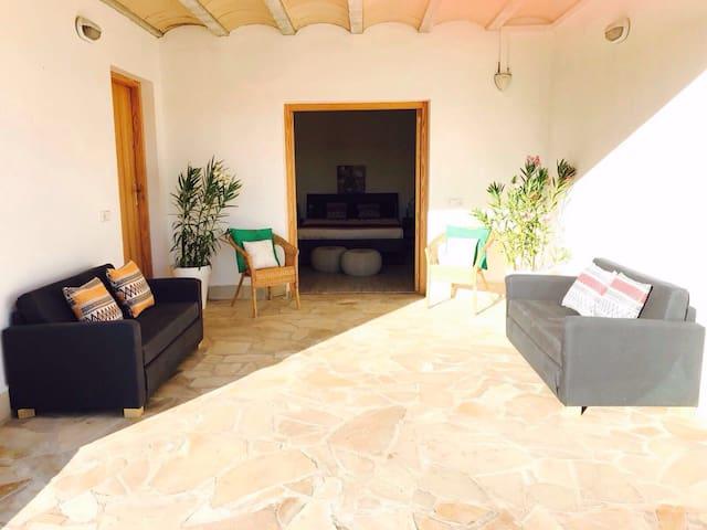Suite 2 in splendida Villa con piscina