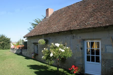 Loire cottage with river access - Chinon