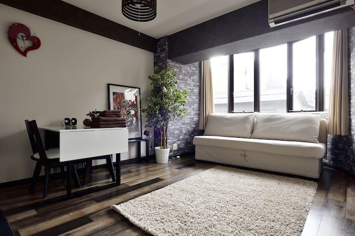 NEW!! 3min to Sta★Spacious and Cozy room★SL100 - Naniwa-ku, Ōsaka-shi - Apartemen