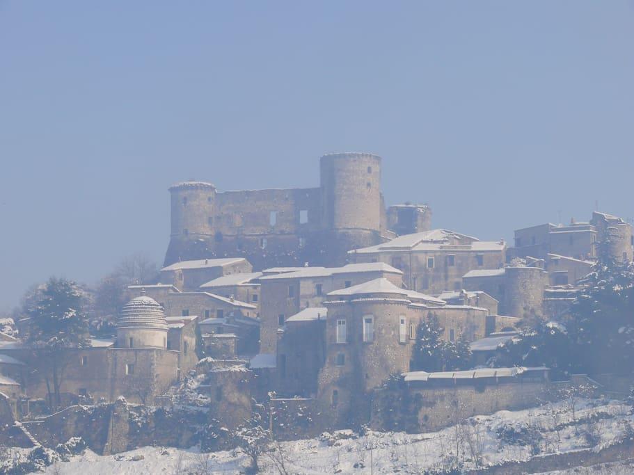 Borgo di Vairano - Particolare della fortezza