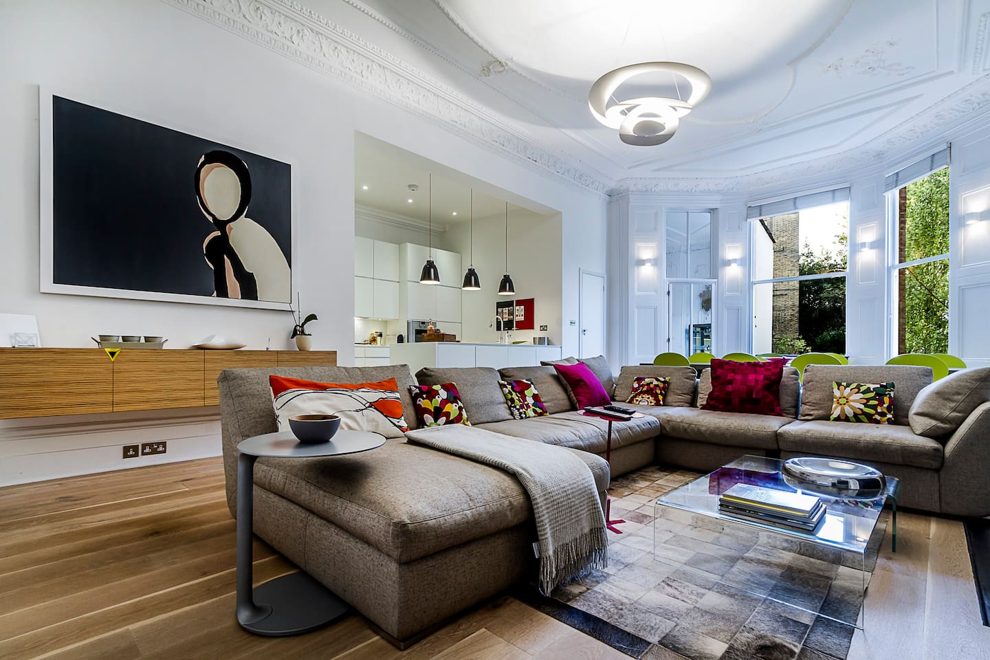The WOW living room!