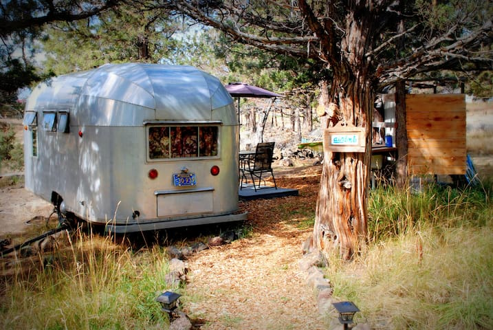 Vintage 1956 El Rey - Airstream-like trailer!