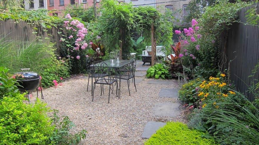 Urban Jungle Garden Duplex