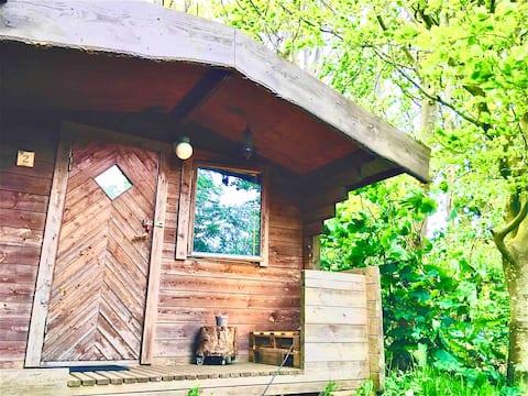 Hytte 2, beliggende i skønne omgivelser i Thy