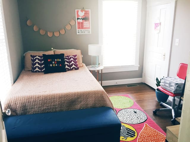 Cozy Room in Downtown Knox! - Knoxville - Casa