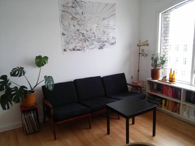 Quiet and green in the best neighbourhood - Kopenhagen - Wohnung