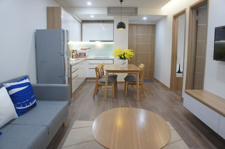 New&nice apartment 2BR in the center of Danang