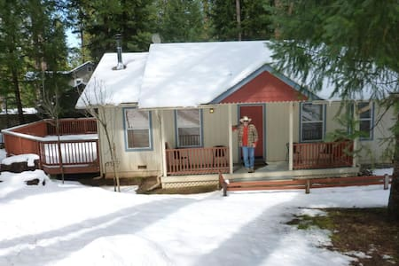 Cozy home--beautiful location near wineries/rivers - Grizzly Flats