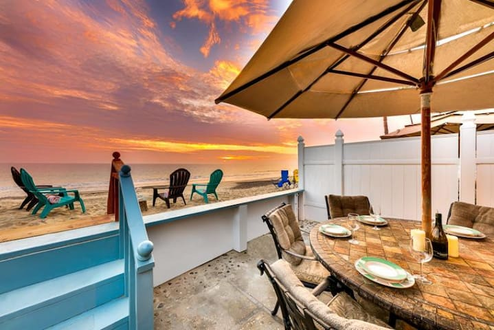Perfect Beachfront Family Home + Great for Holidays!