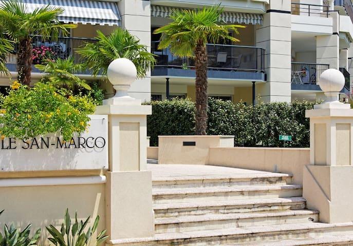 SAN MARCO LIDO Calme et Standing Grand 2 pièces - Cagnes-sur-Mer - Apartamento