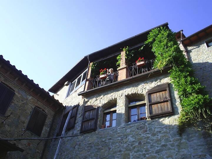 """Appartamento Nella """"Casa dell'Arte"""" in Toscana"""