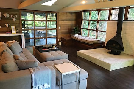 Idyllic Redwood Retreat in Guerneville - Guerneville - Casa