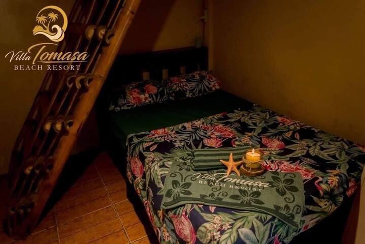 Kubo Room at Villa Tomasa Beach Resort