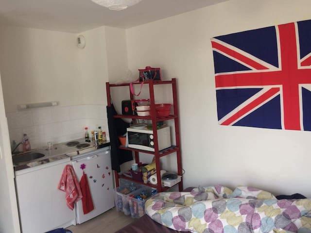 Studio meublé Pontivy - Pontivy - Apartamento