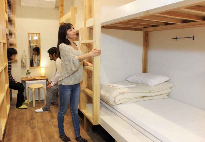 Cozy hostel mixed dorm, near Hakata & free wifi 2